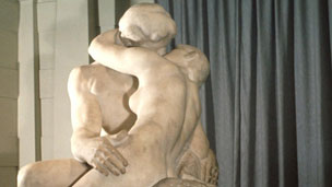 Rodin&#039;s The Kiss