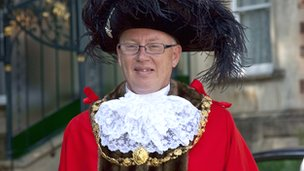 Councillor Geoff Gollop, the Right Honourable Lord Mayor of Bristol
