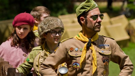 Jason Schwartzman (right) is a regular in Anderson's movies