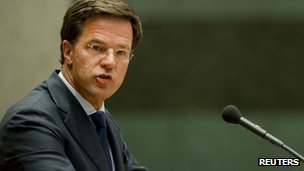 Dutch PM Mark Rutte (24 March 2012)