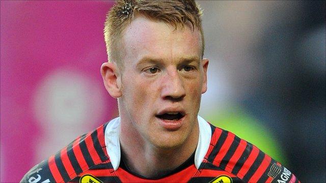 Warrington winger Chris Riley
