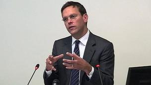 James Murdoch at the Leveson Inquiry