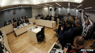 Anders Behring Breivik trial and cameras