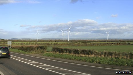 Ecotricity Black Ditch artist's impression