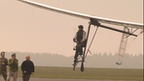 Human-powered plane