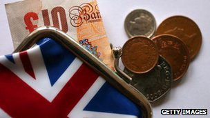 Union flag purse