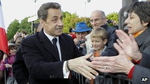 Mr Sarkozy met ethnic Armenians at a ceremony in Paris on Tuesday