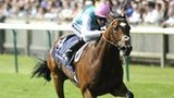 Tom Queally riding Frankel to an easy win at the Qipco 2000 Guineas Stakes at Newmarket in April