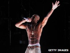 Hologram of Tupac