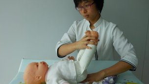 Nurse training in Hong Kong