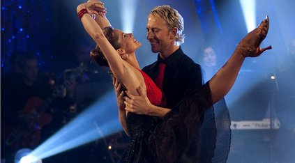 Darcey Bussell performing with Ian Waite