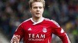 Aberdeen striker Darren Mackie
