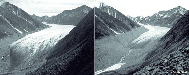 McCall Glaciar, Alaska N