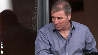 Ally McCoist leaves Ibrox