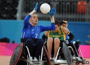 Test event for the 2012 Paralympics