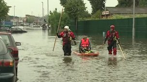 East Belfast flood