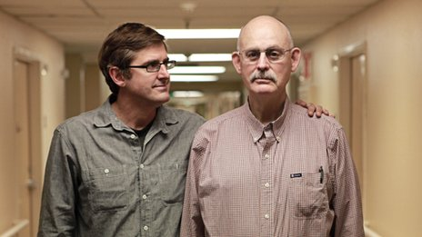 Louis Theroux with Gary