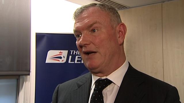 Football League chairman Greg Clarke