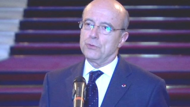 French foreign minister, Alain Juppe