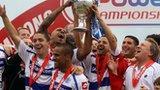 QPR celebrate Championship win