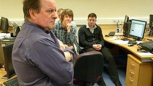 James Naughtie in Trinity University College Leeds