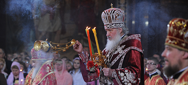 Head of the Russian Orthodox Church, Patriarch Kirill