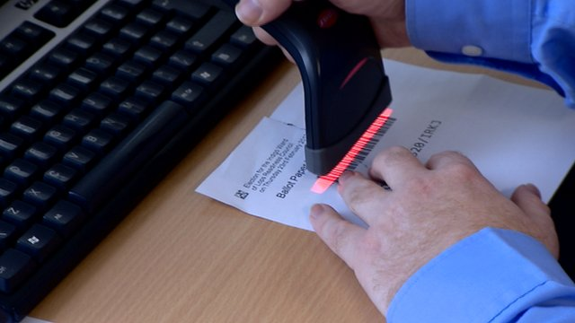 The new electronic system for counting votes