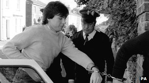 Jeremy Bamber shortly after his arrest