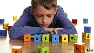 Child spelling autism