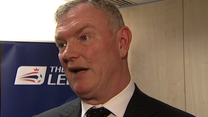 Football League chairman Greg Clarke