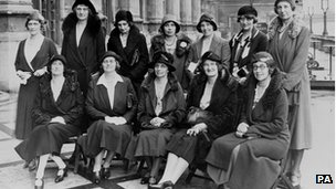 women MPs at Westminster in 1931