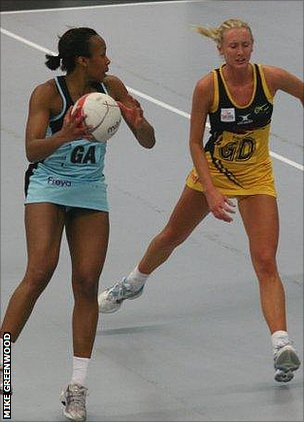 Surrey Storm in action against Northern Thunder