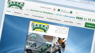 Launa Windows website