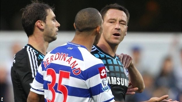 Terry is accused of racially abusing Ferdinand