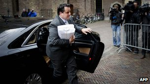 Dutch Finance Minister Jan Kees de Jager (23 April 2012)