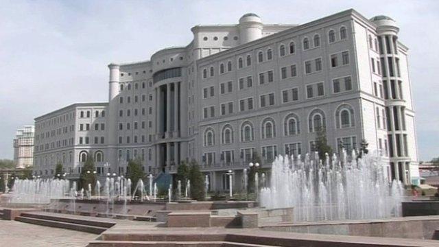 Tajikistan's national library