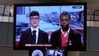 School Reporters on TV