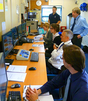 REL control room