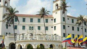 Hotel Caribe, Cartagena, Colombia