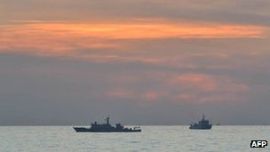 File photo: Chinese ships in South China Sea