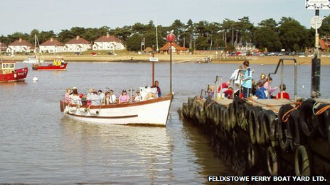 Felixstowe and Bawdsey ferry