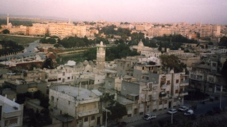 Hama skyline (file)