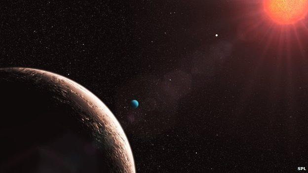 "Planet called ""Gliese 581e"""