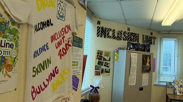 Inclusion unit at Dunfermline High School