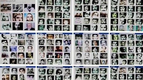 Pictures of some of those killed in Hama in 1982