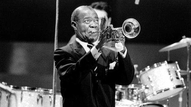 Louis Armstrong on BBC2 in 1968