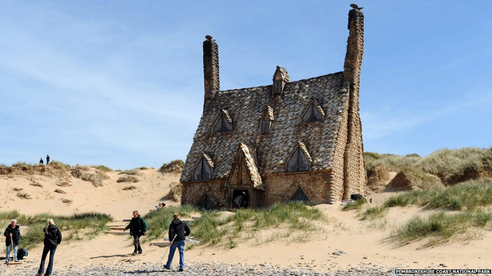 Bbc News In Pictures Famous Film Locations As Wales