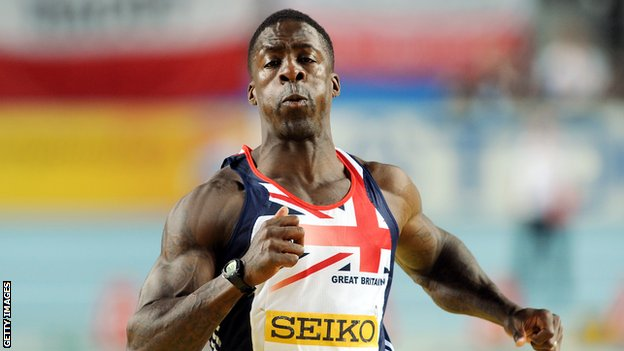 Sprinter Dwain Chambers