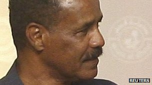 Eritrea's President Isaias Afewerki (July 2011)