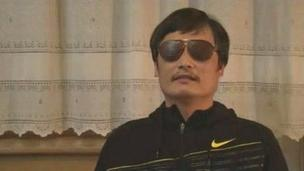 Chen Guangcheng (video grab after his escape)